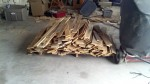 And another pallet of pallet wood, this is about 50 pallets taken apart, really that is probably the hardest part, the rest just takes time...