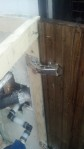 These are my hinges, they were a great deal AND perfect functionally, they let the cabinet doors sit right next to the wall and lift them to open.